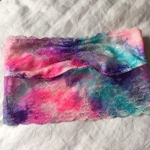 Victoria Secret PINK Lace Bandeau Bralette